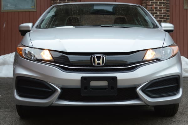 The new face of the 2014 Honda Civic Coupe.