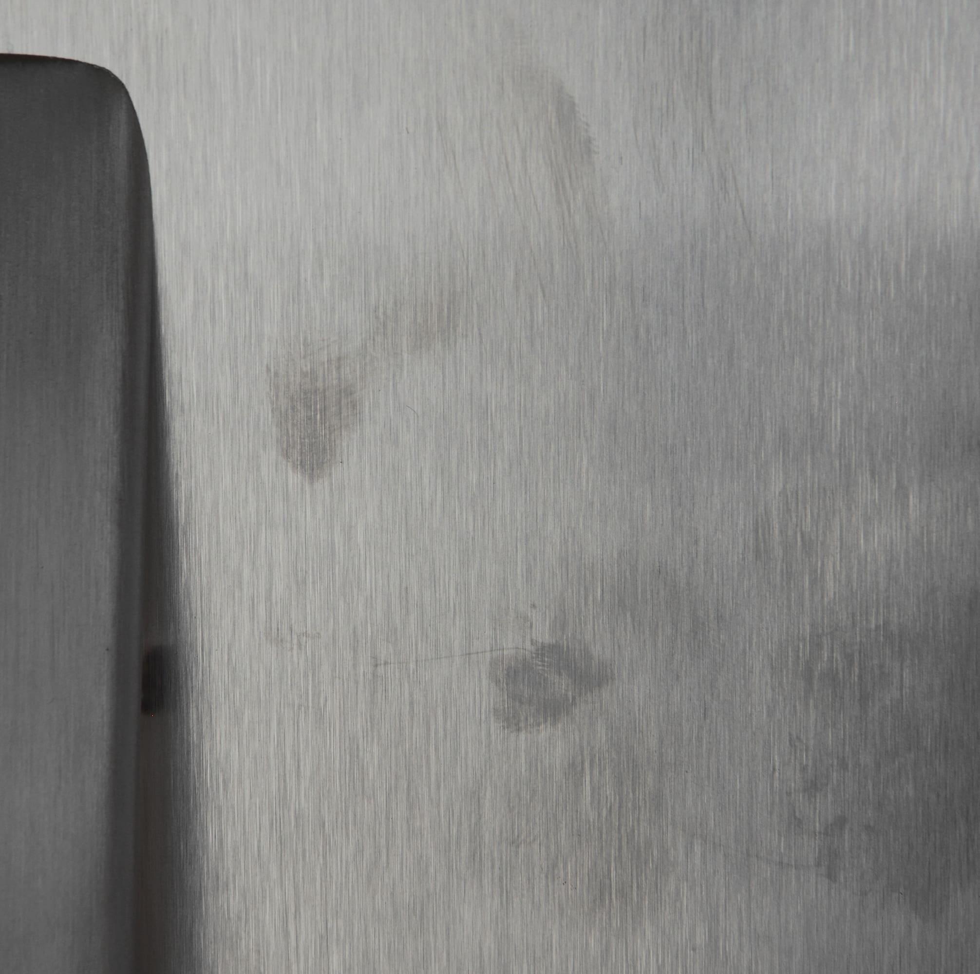 Fingerprints–the bane of the Kenmore Elite 28093's stainless steel finish.