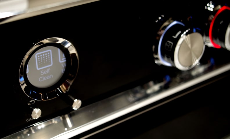 Fisher & Paykel oven digital display