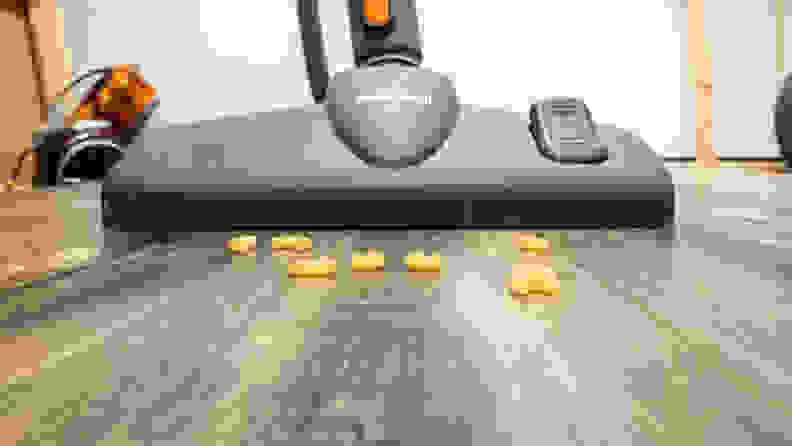 Hardwood floor vacuums testing