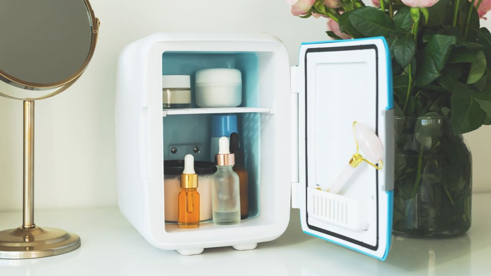 What's a skincare fridge—and should you be using one?