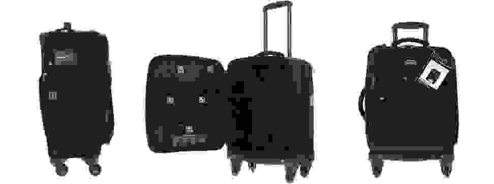 Genius Pack suitcases.