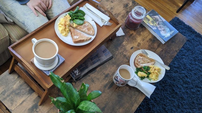 GlobeIn Box breakfast