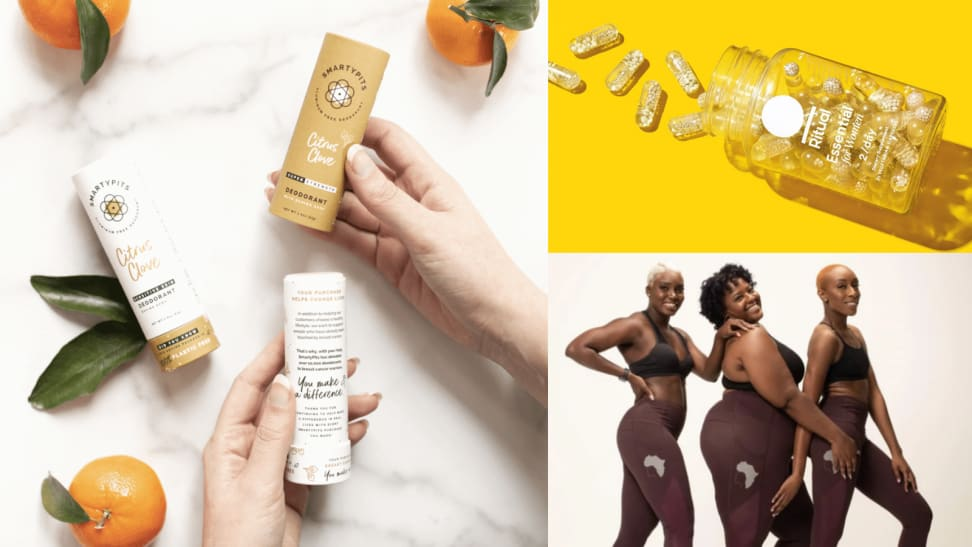 Hero image for women-owned health and wellness brands