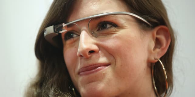Google Glass In Use