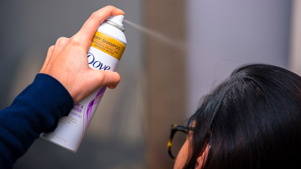 You're probably using dry shampoo wrong