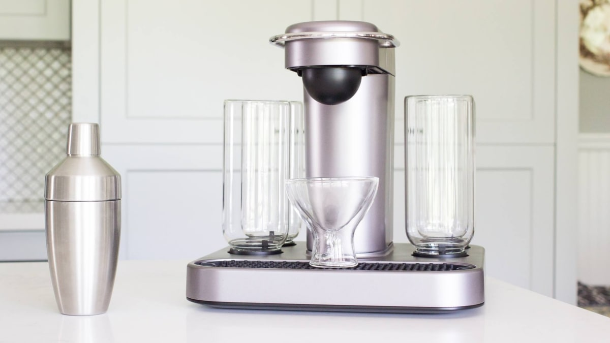 This single-serve cocktail maker is the boozier version of your Keurig