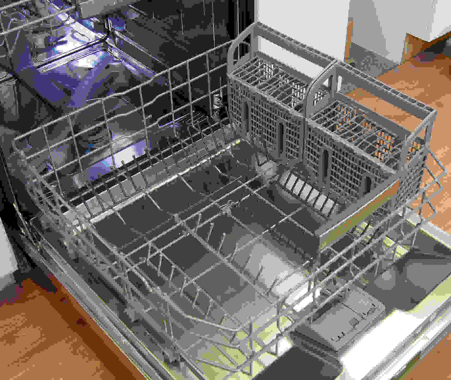 Bosch SHX7PT55UC bottom rack