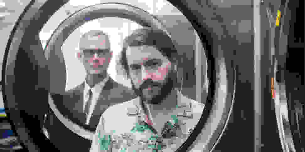 A photo of Matmos from the duo's Facebook page