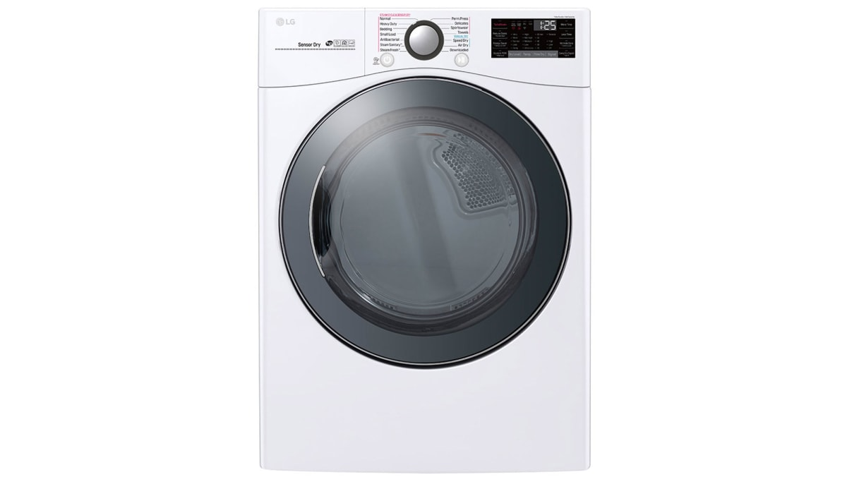 LG DLEX3900W Dryer Review