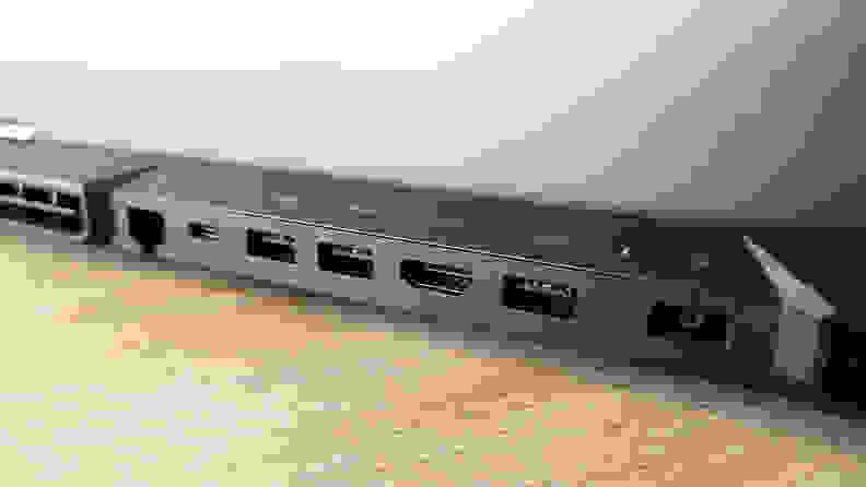 Lenovo Legion 5 Pro Gen 6 back ports