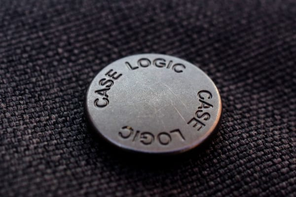 This Case Logic bag has numerous small touches that show a great attention to detail.