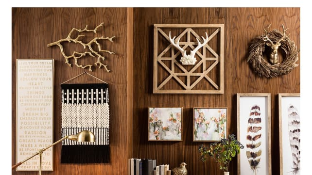Wall-decor-from-Target
