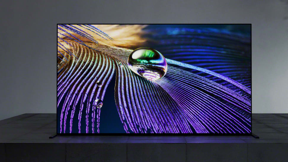 The 65-inch Sony A90J Master Series OLED