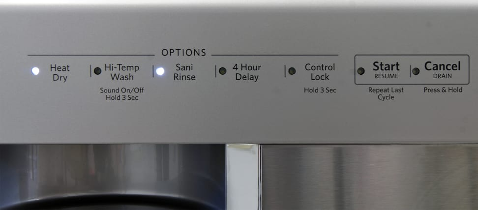 KitchenAid KDFE104DSS—Option Controls