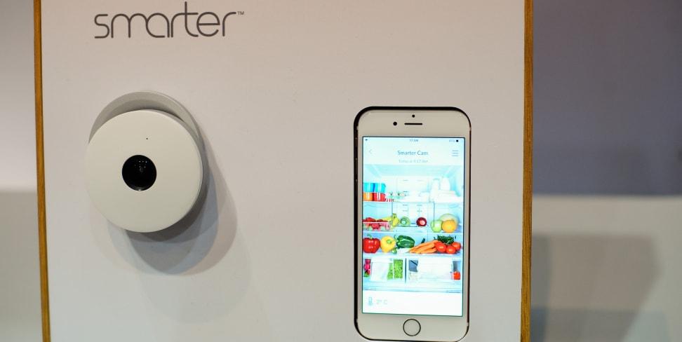 The Smarter Fridge Cam turns any refrigerator into a smart fridge.