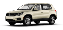 Product Image - 2012 Volkswagen Tiguan S with Sunroof