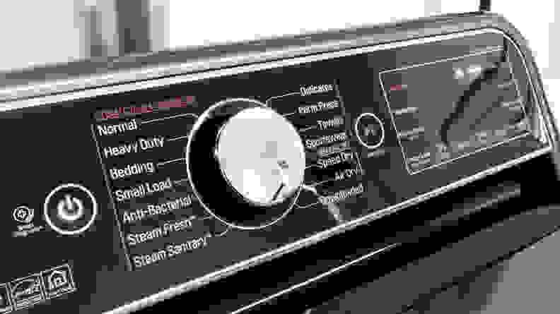 LG DLEX7900BE Control Panel