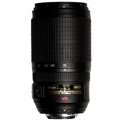 Product Image - Nikon AF-S VR Zoom-Nikkor 70-300mm f/4.5-5.6G IF-ED