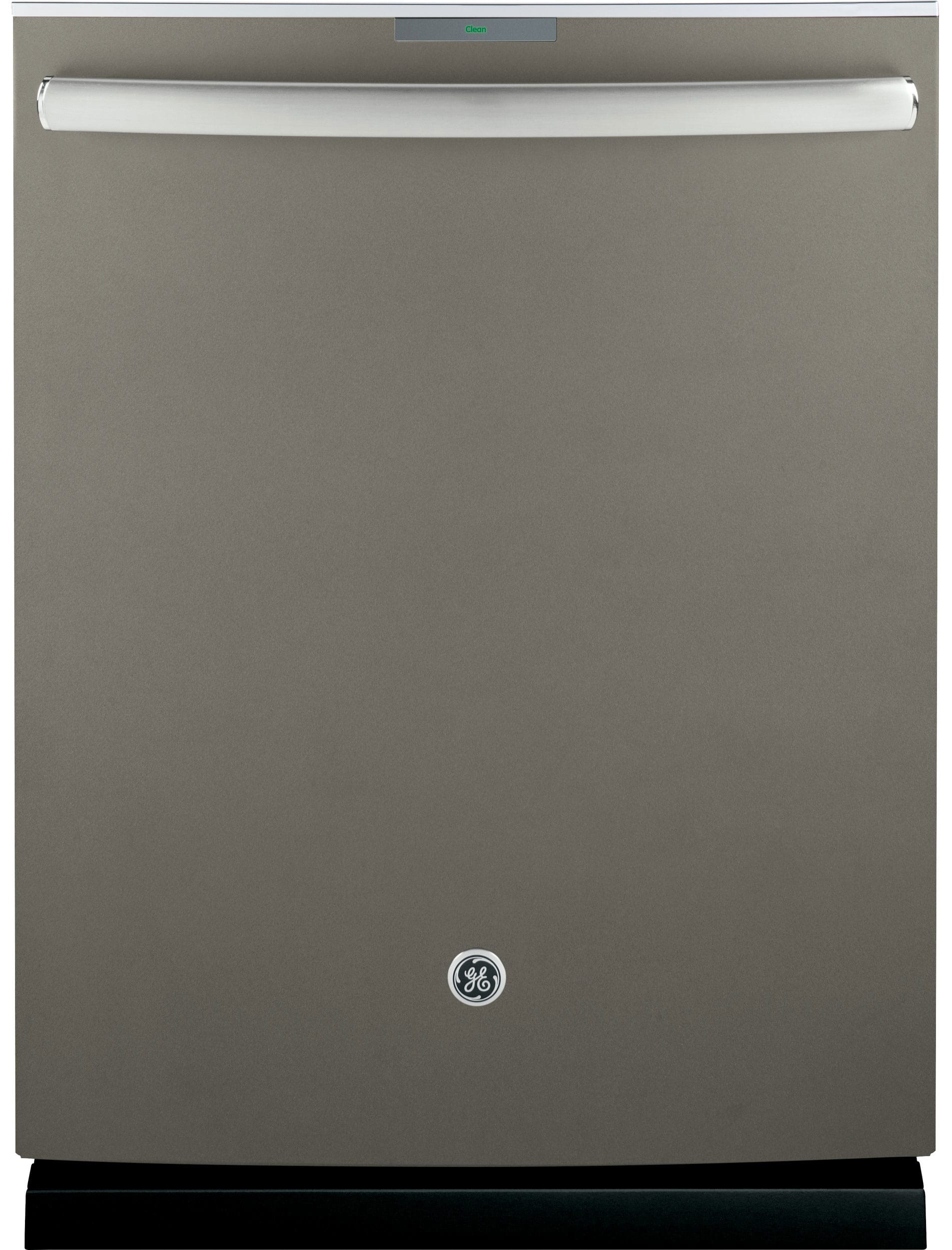 GE's special slate finish is available for the same price as stainless.
