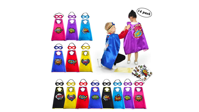 Kids Birthday Party Favors Superhero Capes
