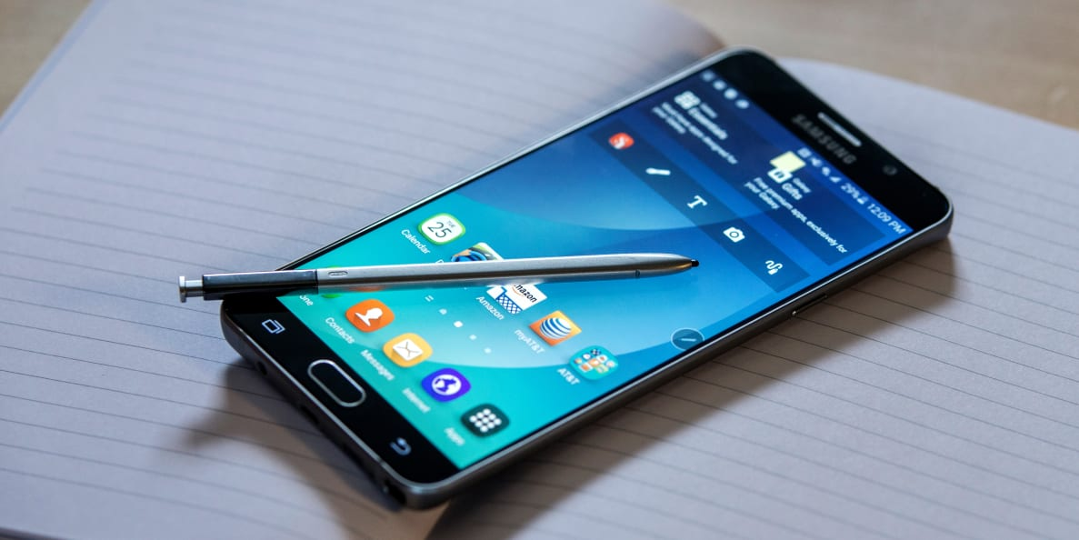 The Samsung Galaxy Note 5 has an updated stylus and a significantly better design than its predecessor.