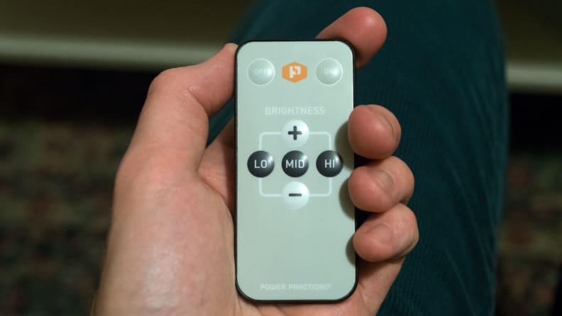 Bias LED lighting remote control