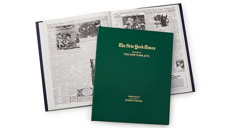 Custom NYT Football Book