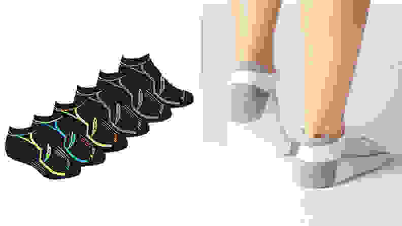 Running socks available on Amazon
