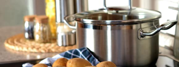 Potato cook pot eat 45247