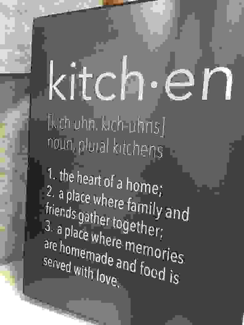 kitchensign