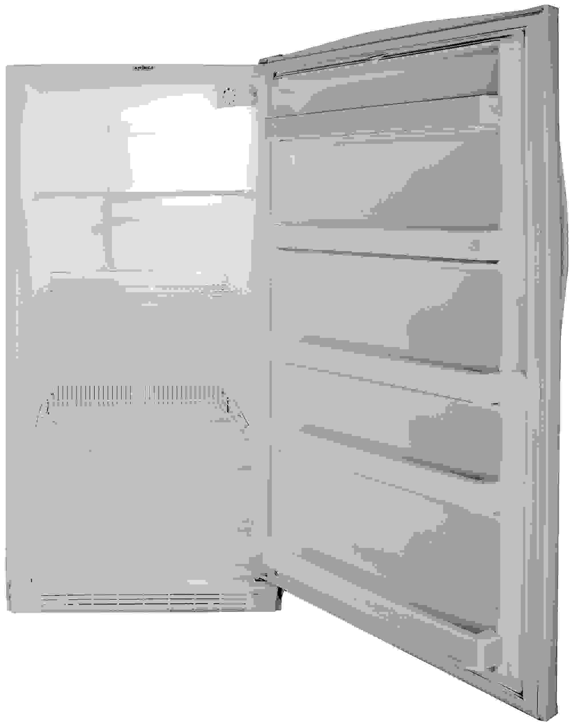 All of the Whirlpool EV160NZTQ's internal storage is completely immobile.