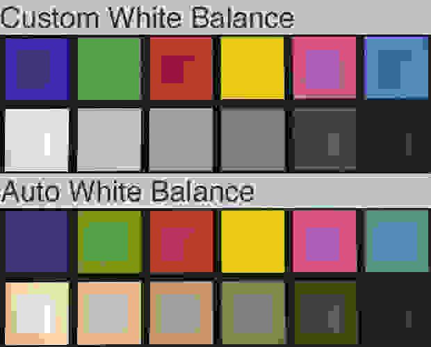 White Balance Comparison