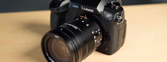 Panasonic lumix gh5 three quarters