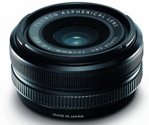 Product Image - Fujifilm Fujinon XF 18mm f/2 R