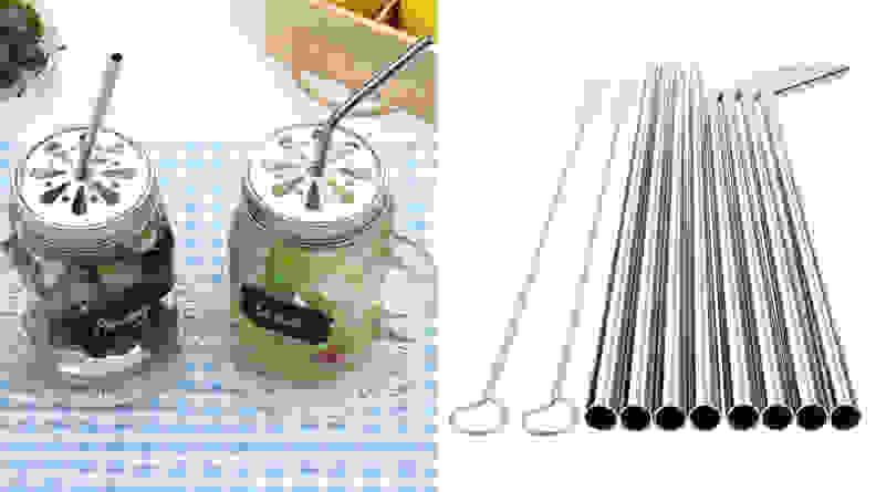 YIHONG Stainless Steel Reusable Straws