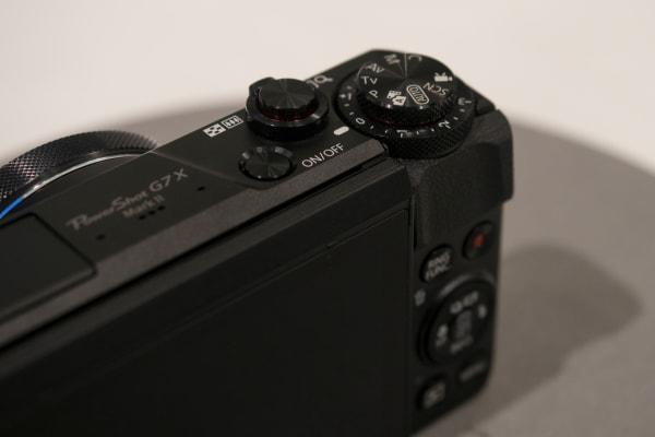Canon PowerShot G7 X Mark II Stacked Dials