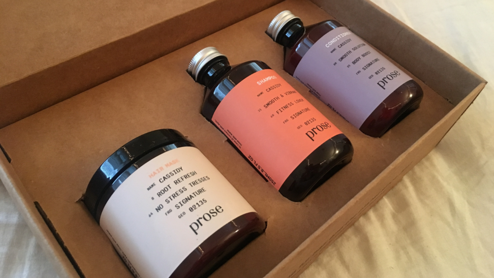 Prose Hair Products Box