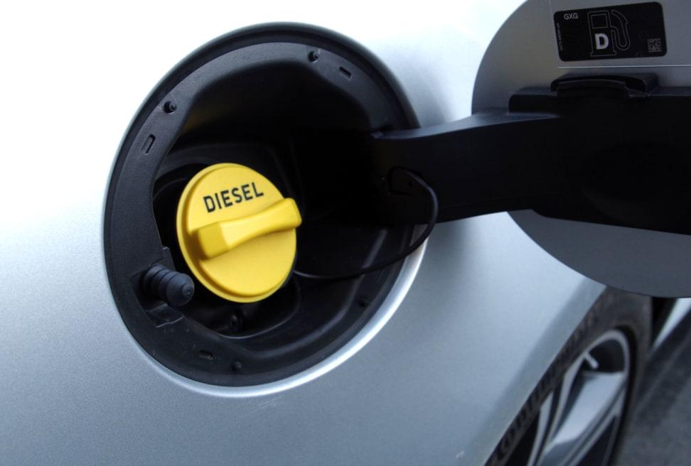 2017 Jaguar XF Diesel Fuel Filler Cap