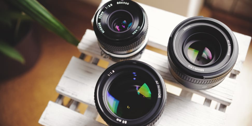 Prime lenses provide superior image quality with less bulk