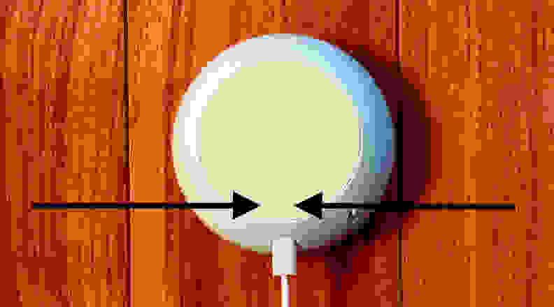 google home mini reset button