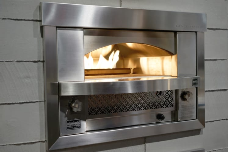 Kalamazoo Outdoor Gourmet Built In Artisan Fire Pizza Oven First