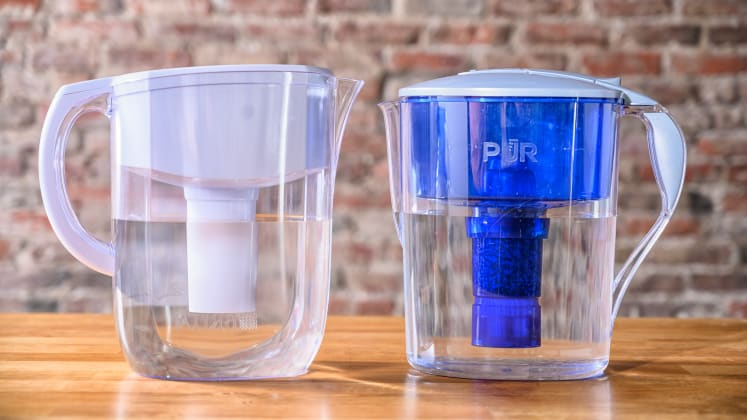 Brita vs  Pur—which water filter pitcher is better? - Reviewed