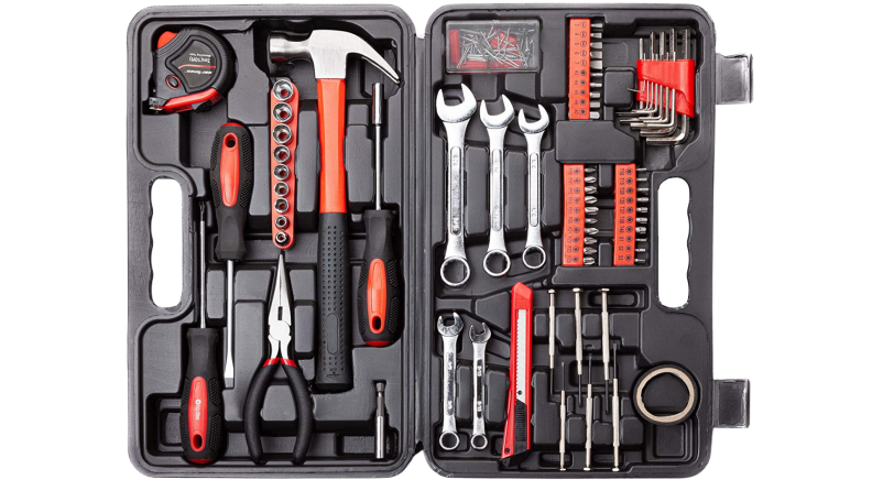 A Cartman tool kit against a white background.
