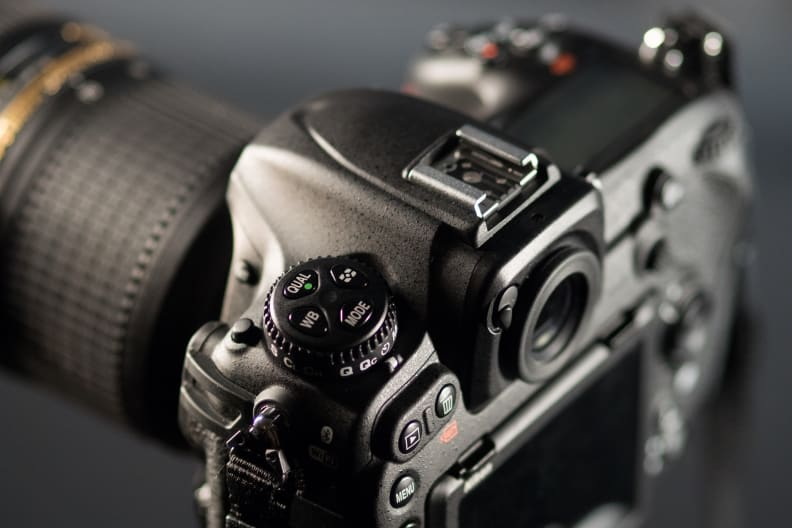 Nikon D500 Pro Mode Dial