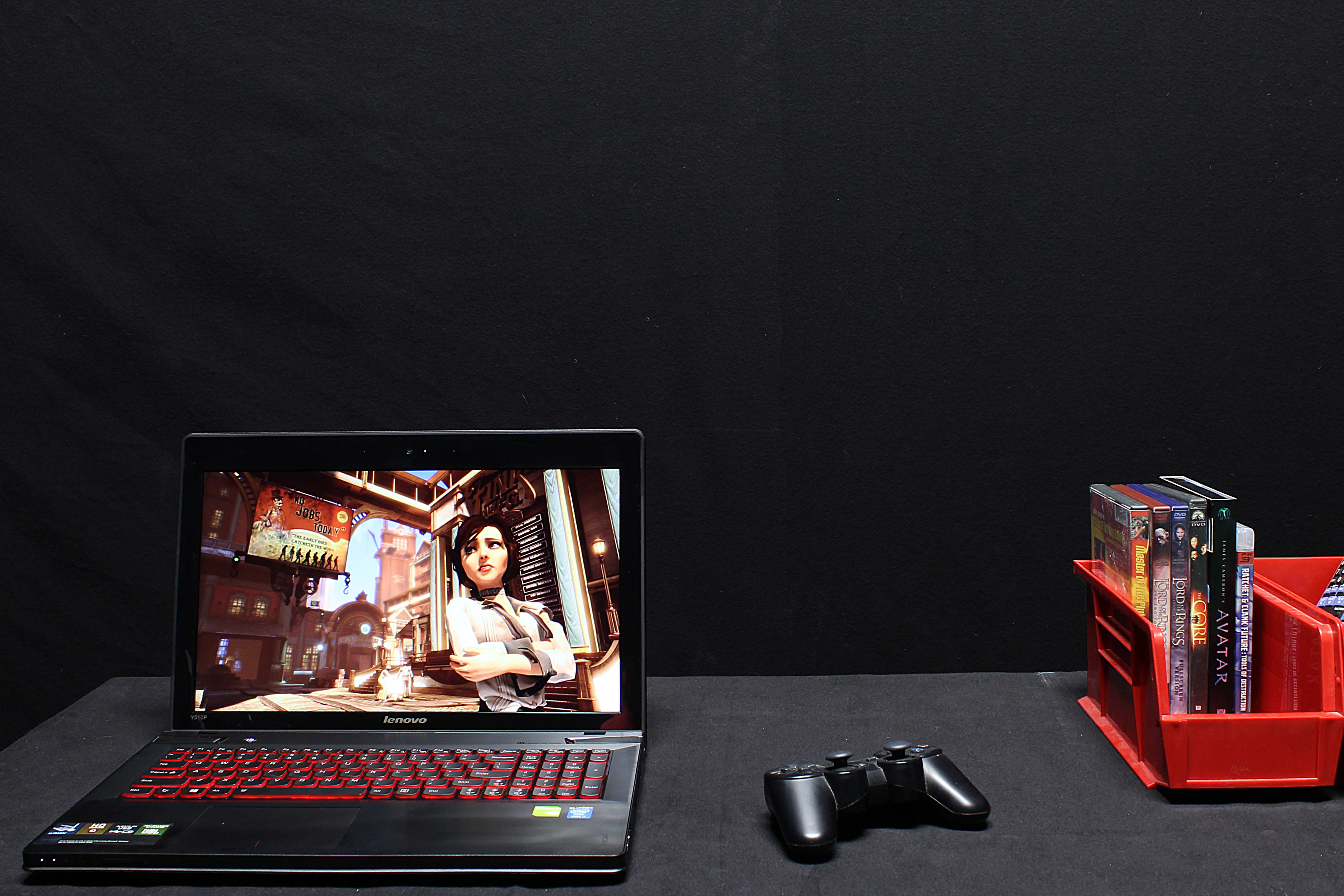 The Lenovo IdeaPad Y510p laptop