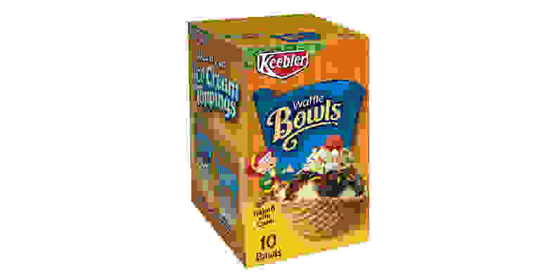 Keebler waffle bowls
