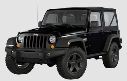 Product Image - 2012 Jeep Wrangler Call of Duty: MW3 Edition
