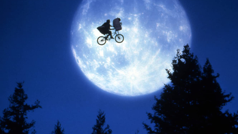 E.T. is sci-fi for the younger set.