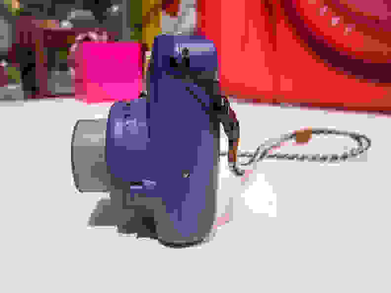 Instax Mini 8 (Grape) –Left Side